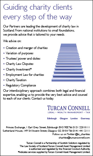 Turcan Connell advert